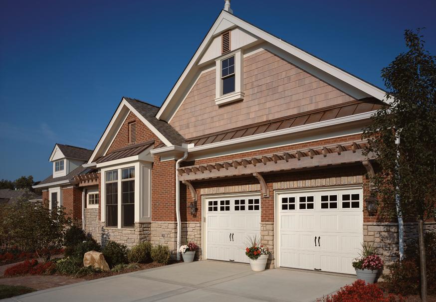 Residential Garage Doors In Ohio Michigan Clopay