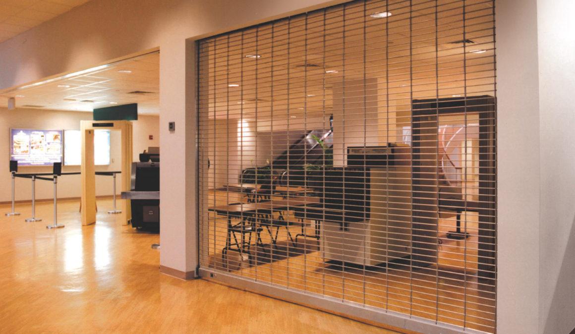 Overhead Door Security : Security grilles tf draper company