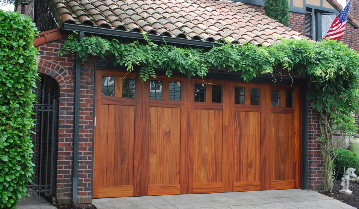 Custom Wood Garage Doors Tf Draper Garage Door Services