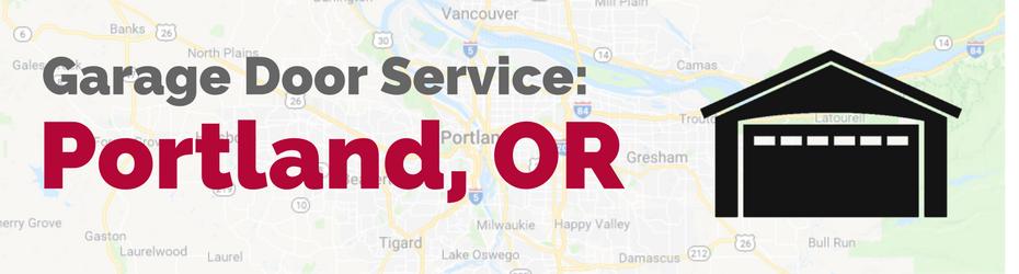 portland or garage door service