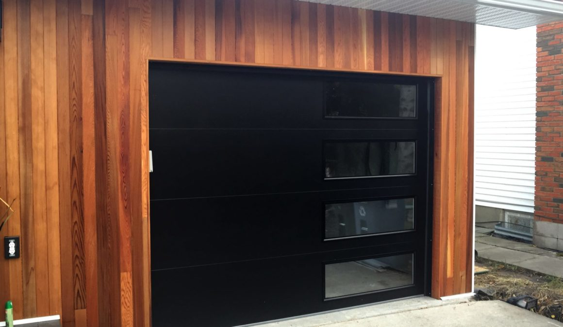 NWD Modern Steel garage doors