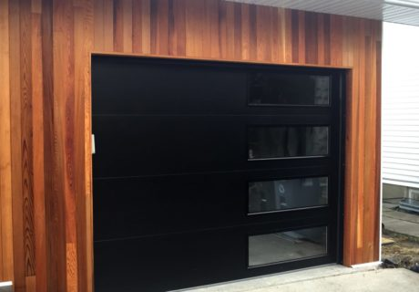NWD Modern Steel garage doors