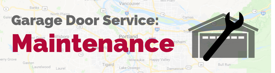 garage door maintenance portland