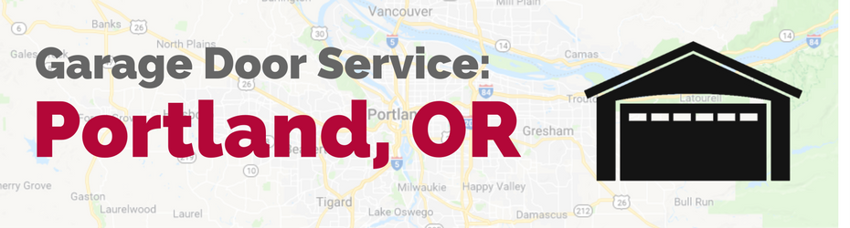 Portland Or Garage Door Service